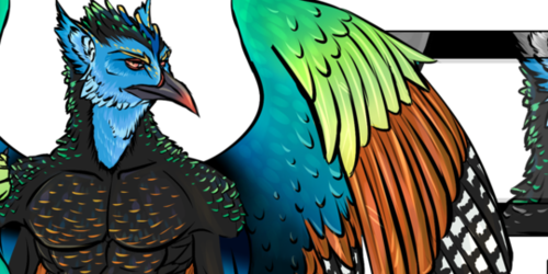 Ocellated Turkey Gryphon Adoptable
