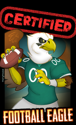 Certified Football Eagle