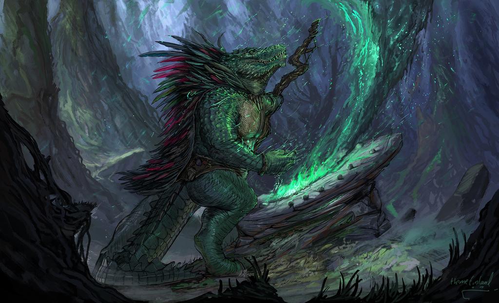 Shamanic visions [commission]