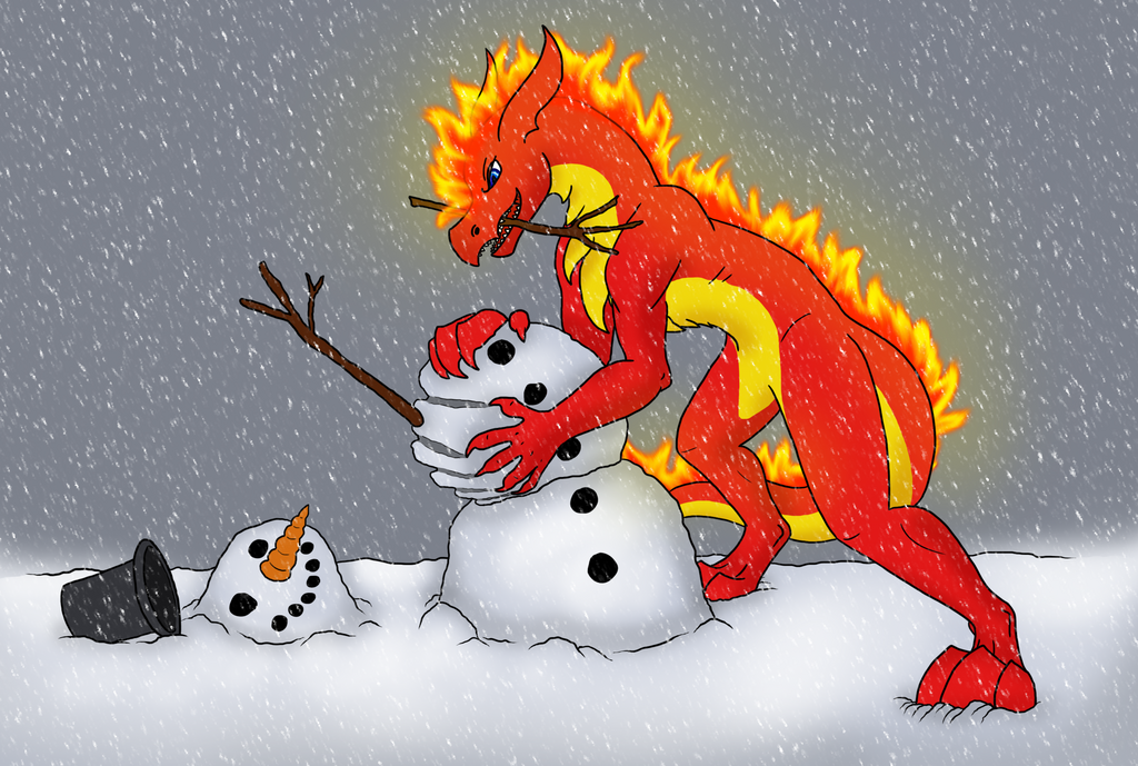 Salamander and the Snowman