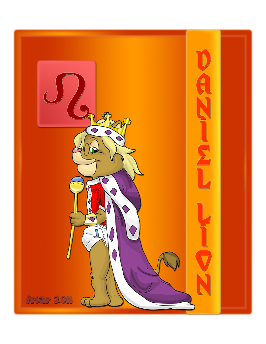 Babyfur Zodiac II: Leo - DanielLionBoy ( diaper )