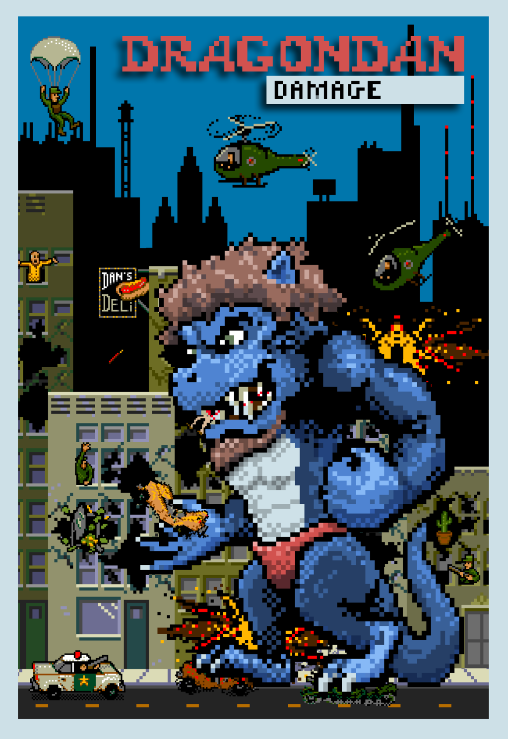 Rampage Badge: DragonDan!
