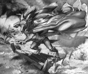Derecho's Hurricane by SixthLeafClover