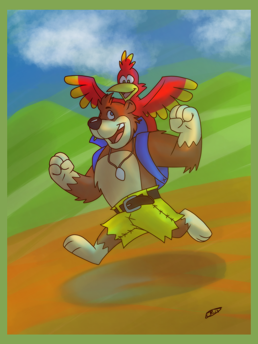 Banjo and Kazooie Are On the Move!