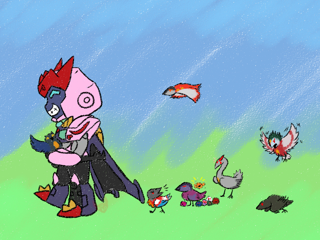 Galvatron and his Starlings