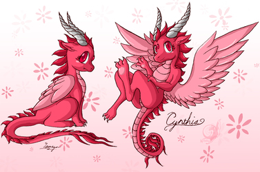 Cynthia the Lil Dragoness