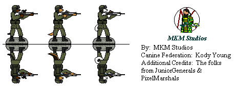 Canine Federation Soldiers