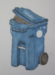 Study of a Trash Bin