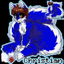 MFF Pixel Badge: Christian