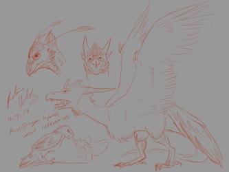 Some Dragon/Bird Hybrids