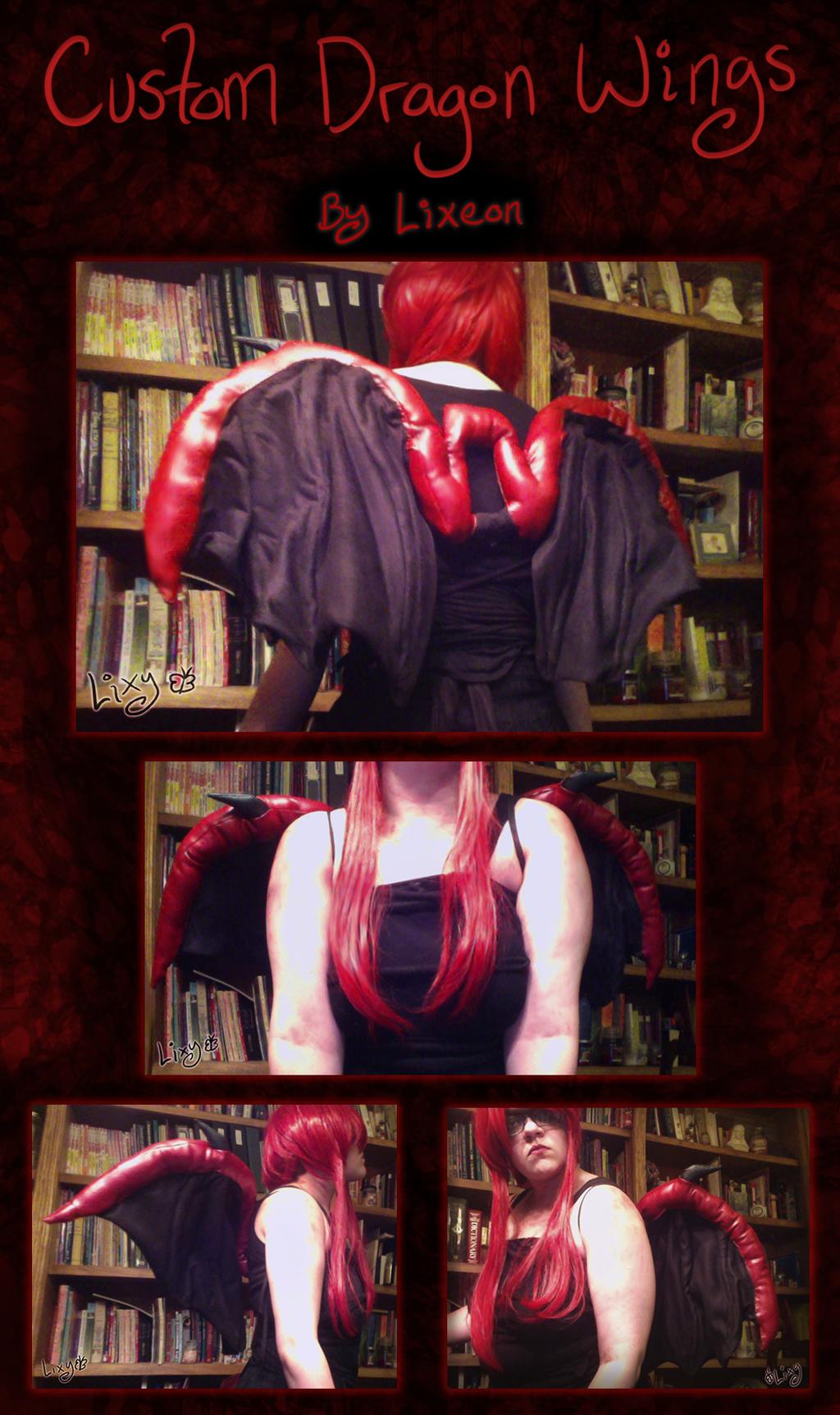 Custom Demonic Dragon Wings! [C]