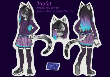 Comm - Violet ref sheet