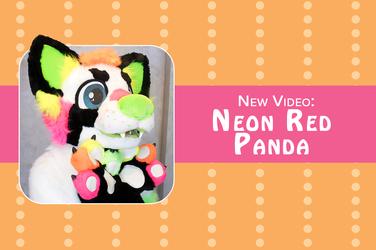 New Video: Neon Red Panda