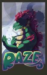 Raze the dragon the Badge (the movie)