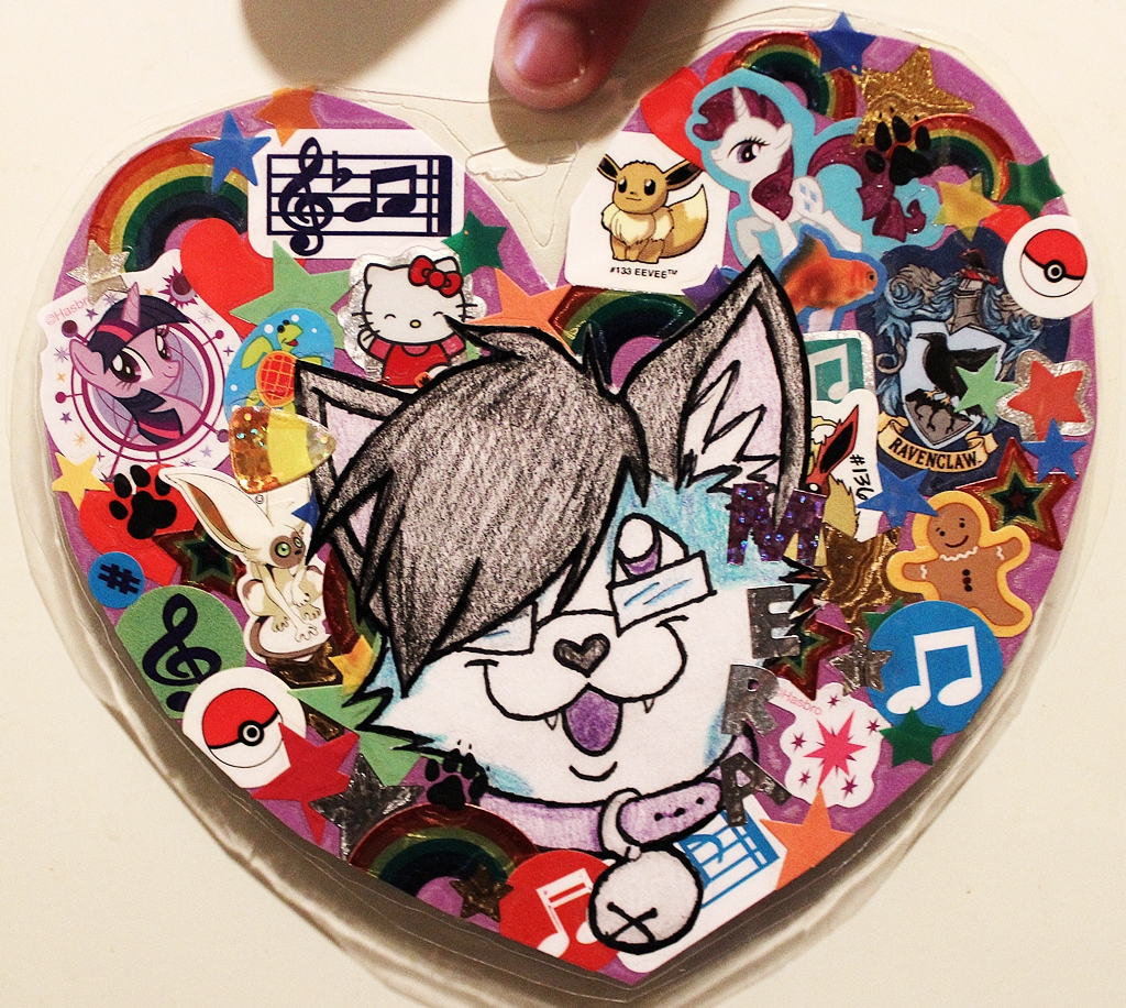 Sticker badge for Mera<3