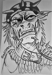 Orc Doodle