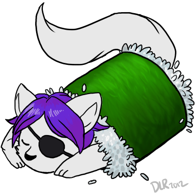 Most recent image: Caigan sleepy stocking icon [ custom ]
