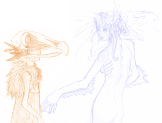 OLD ART - Sketches