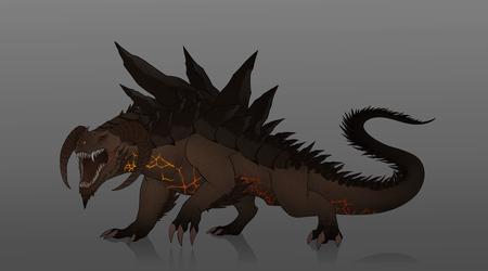 Commission #88 - Mountain Dragon