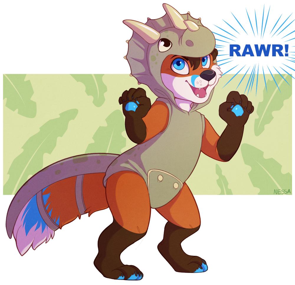 Rawr - Commission