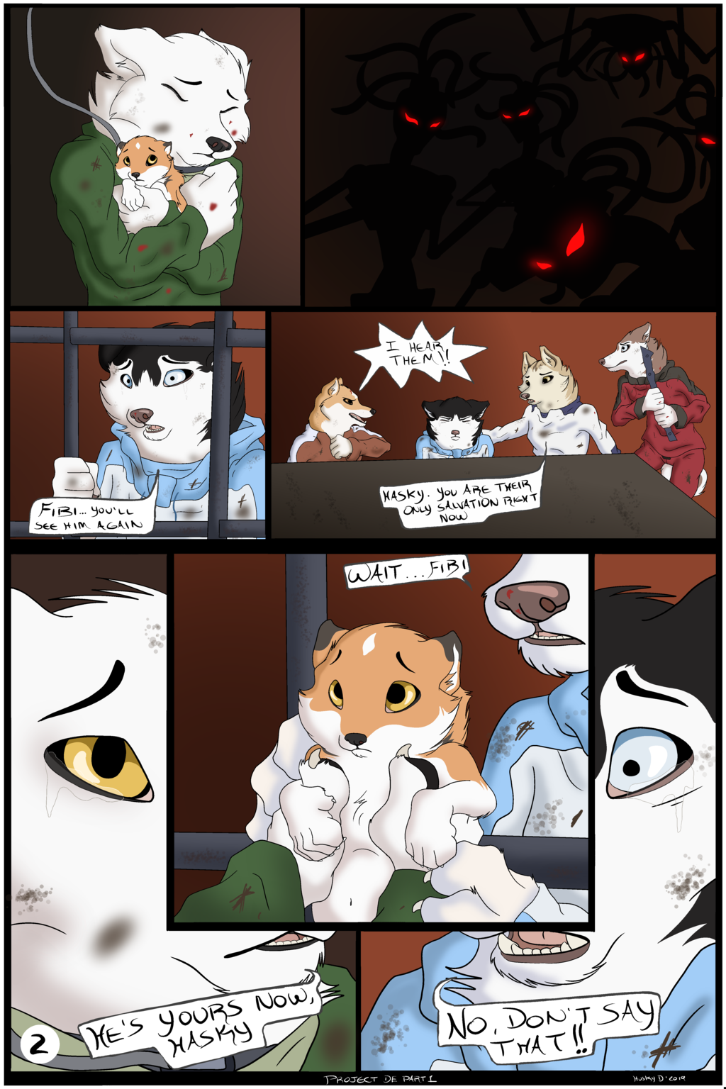 Project D.E -Comic Part 1- (Page 2)