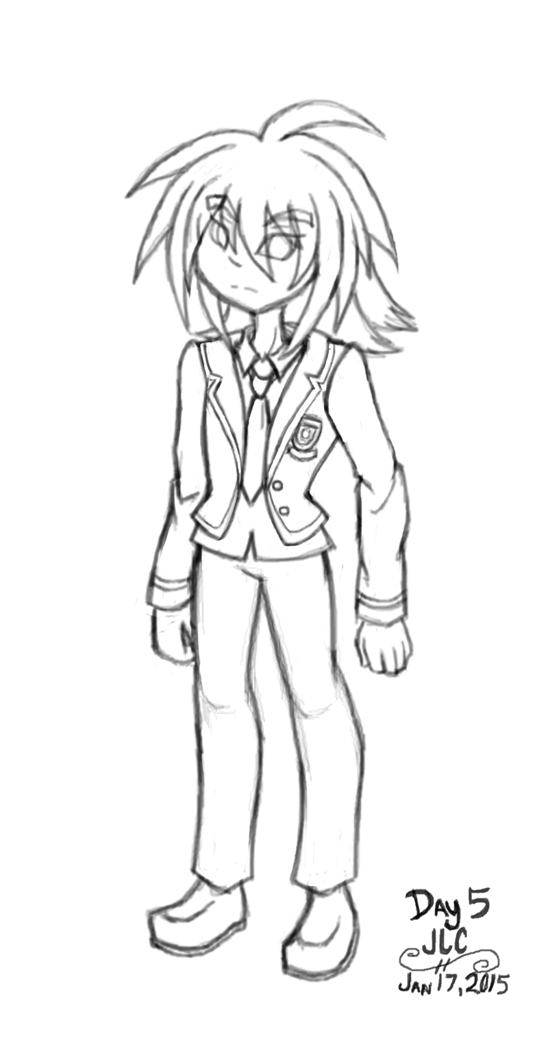 Art Challenge 5 - Uniform Kuro