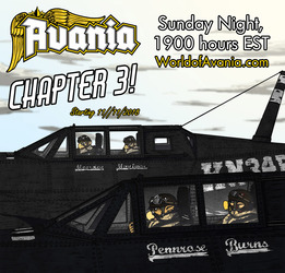 Avania Chapter 3 Starts tonight!
