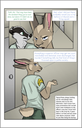 Of Tunnel Rats and Badgers - Ch. 3, Back at the Barracks - P.1