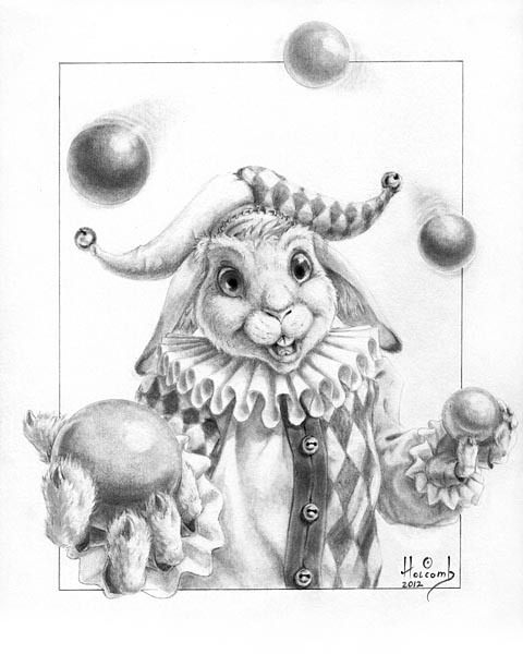 Bunny with Balls
