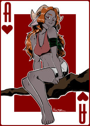 The Ace of Hearts!