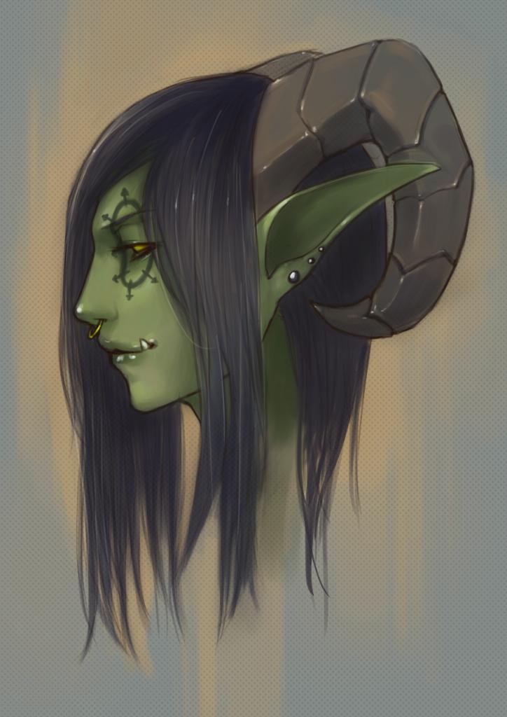 An Orkish Portrait
