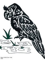 Tribal Broad Billed Parrot