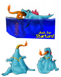 Just For Starters! (#158 Totodile) - by SamagthraV2