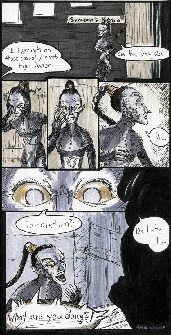Inktober #15: Leta's Discovery Pg. 1