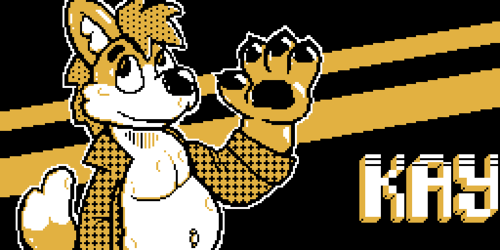 Kay - Pixel Badge