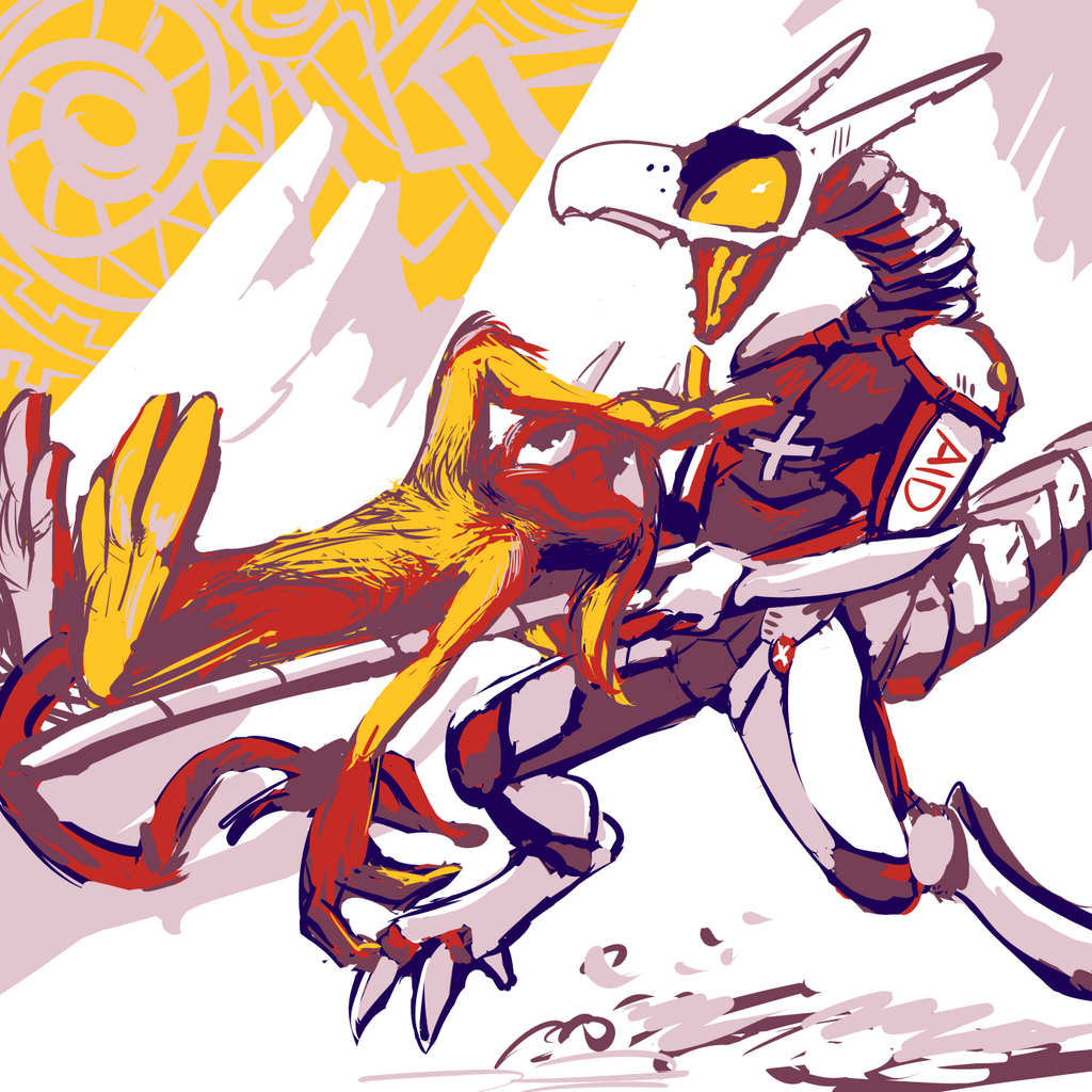 twitter sketch 2-42, Tongue Fork