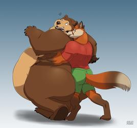 Suprise hugs!