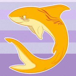 Lemon parrot shark