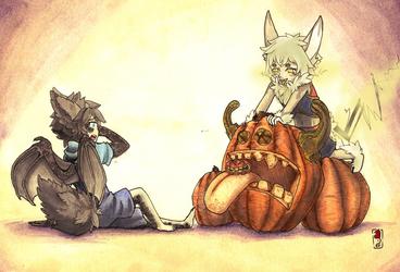 Pumpkin surprise~!