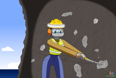 Working In The Mine