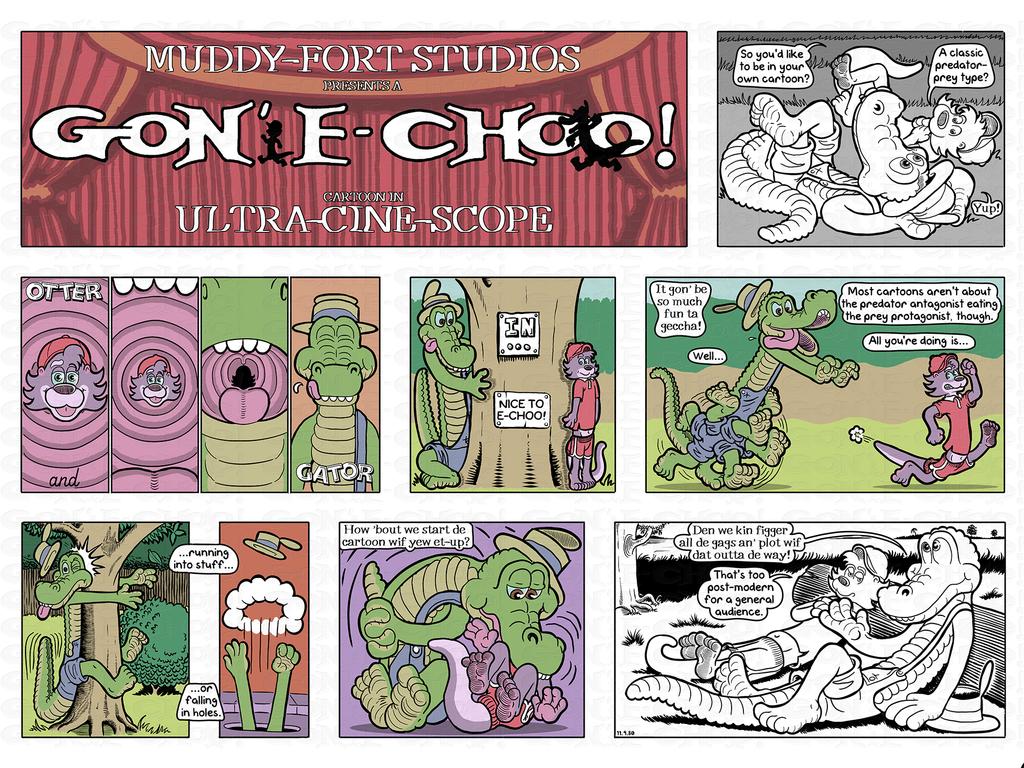 Gon' E-Choo! Strip 189 (www.gonechoo.com)