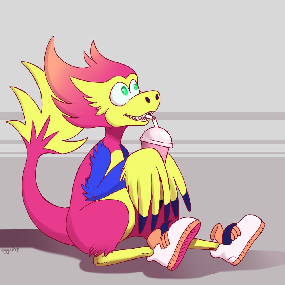 Velocity! [AGDQ Mascot]