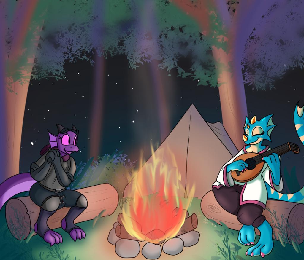 Most recent image: Campsite Tunes