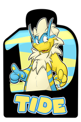 Confuzzled 2017 Badges - Tide