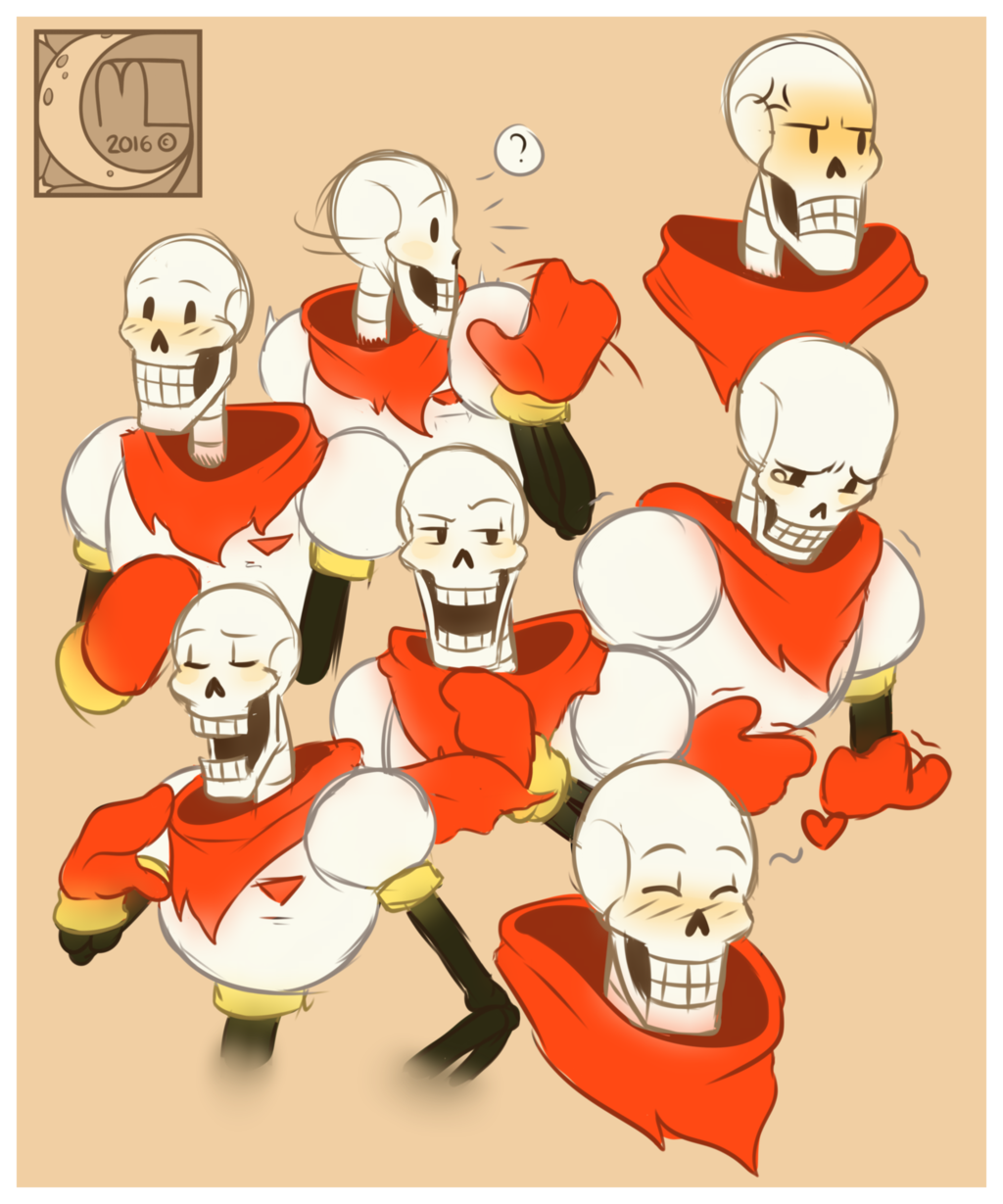 Fan Art- Papyrus's everywhere