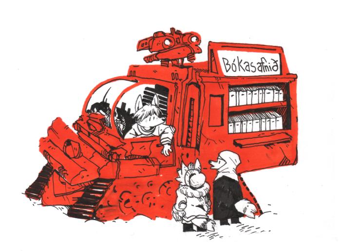 bookmobile mecha