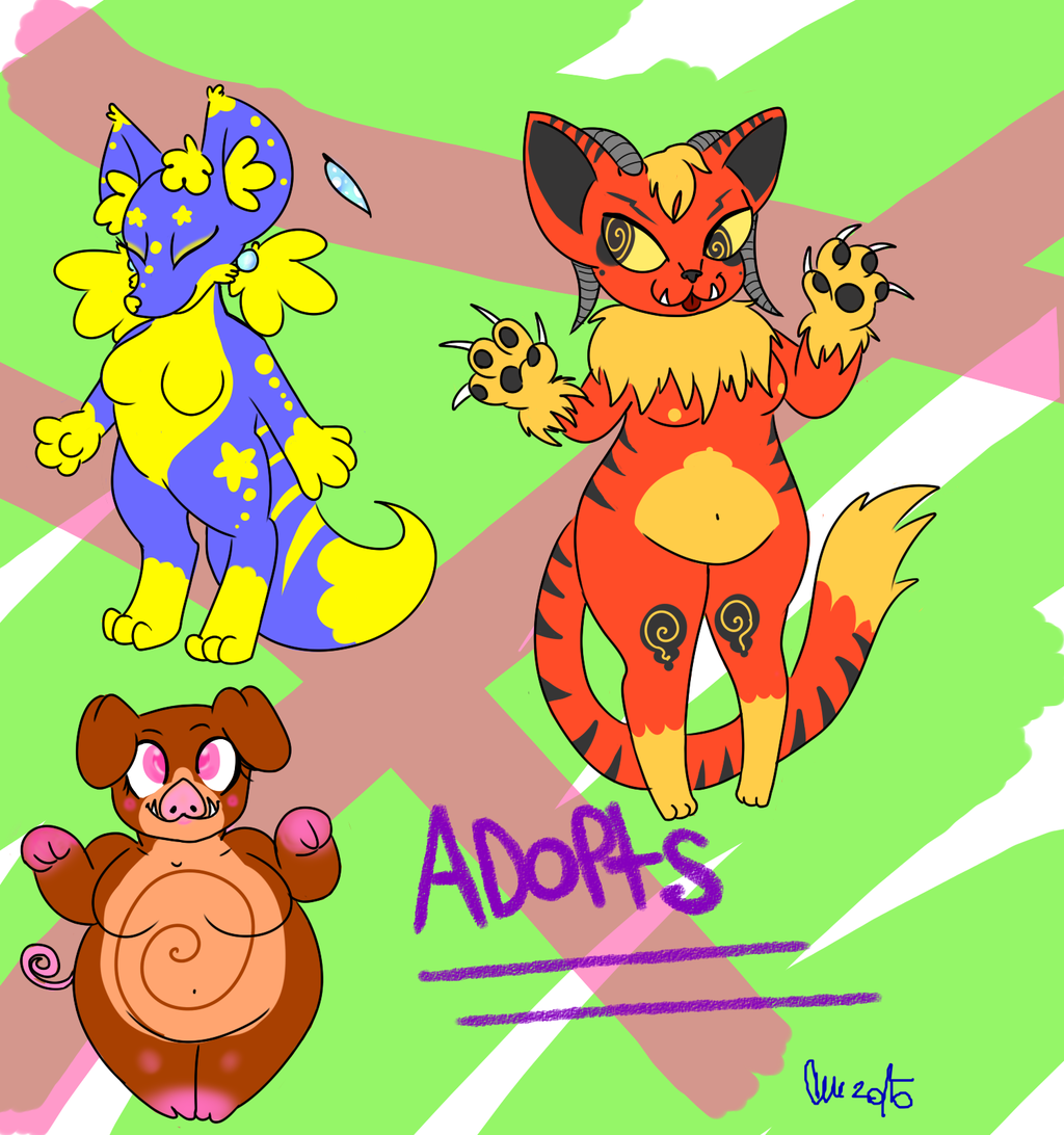Adoptabules 1st Batch