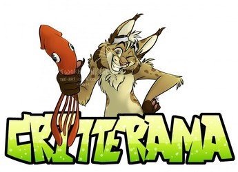 Critterama/Atomic Lollipop Logo