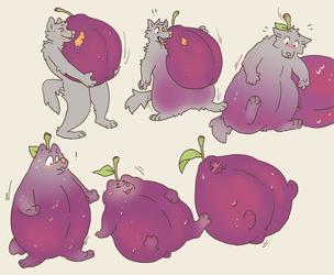 plum'd