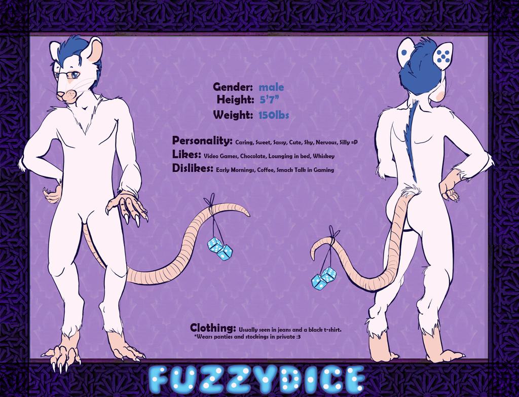 Fuzzydice Reference Sheet